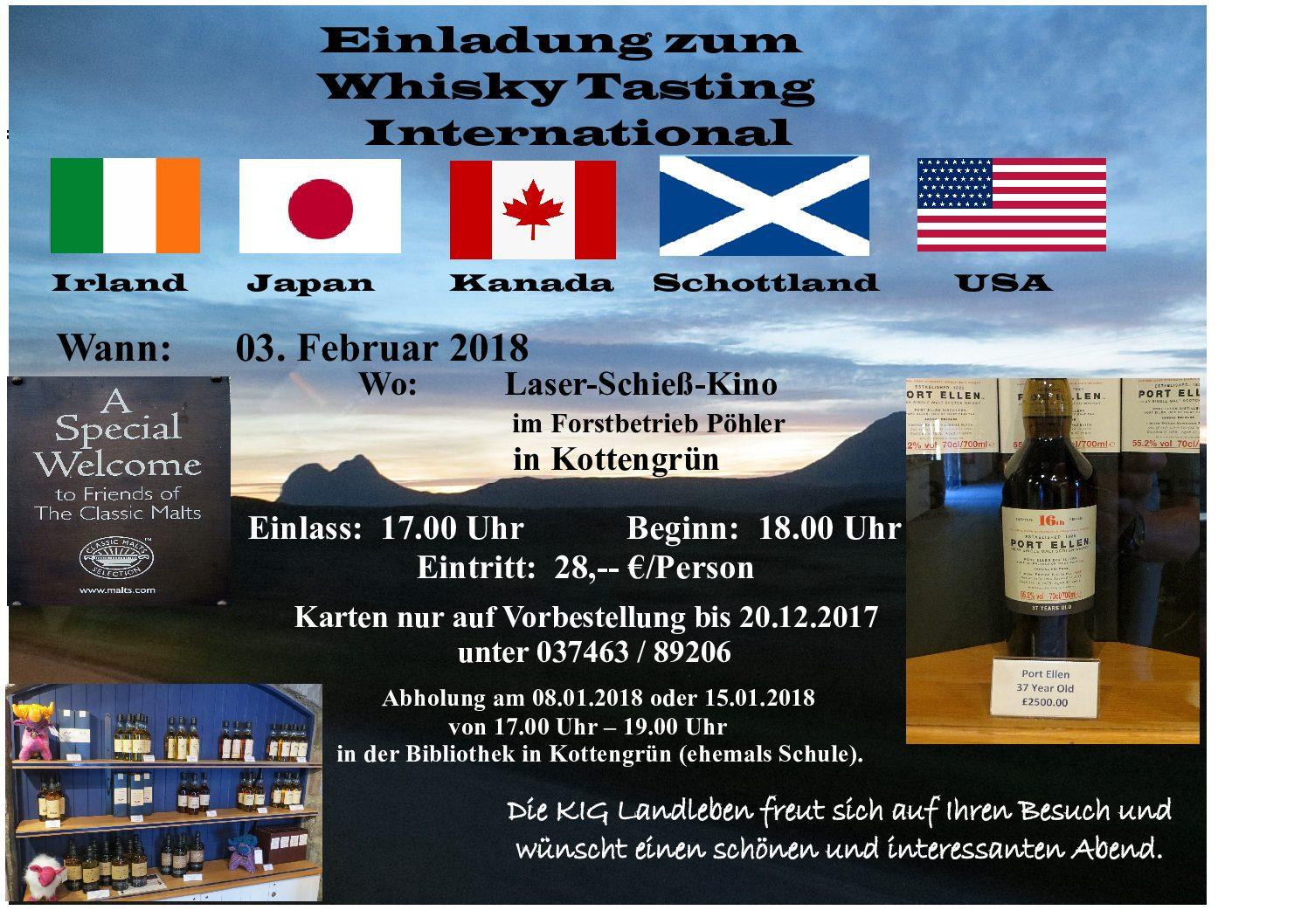 Whisky Tasting International