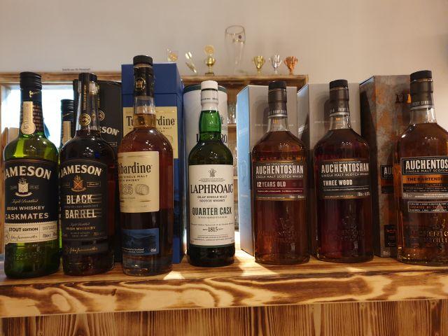 Spielarten des Whiskys