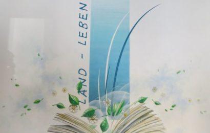 Wandbild im Veranstaltungsraum unserer Bibliothek